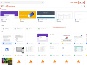 Google Drive gets new user interface just like Gmail's