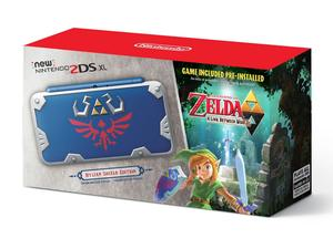 Nintendo's new Hylian Shield-themed Nintendo 2DS XL is a must-have