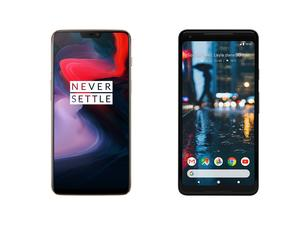 OnePlus 6 vs. Pixel 2 XL: OnePlus's new flagship takes on Google's best