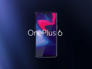 OnePlus 6 officially unveiled, features incredible specs and display notch