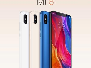 Mi 8 launches, and it definitely looks like the iPhone X