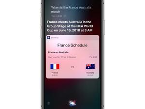 Apple updates Siri's sports knowledge ahead of World Cup