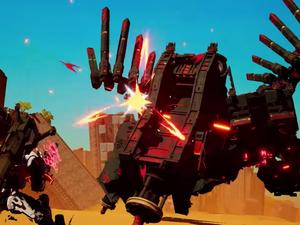 Daemon x Machina is an impressive mech action game