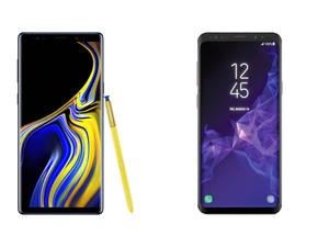 Galaxy Note 9 vs. Galaxy S9 Plus: The Difference is More Than Just the S-Pen