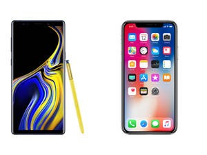 Galaxy Note 9 vs. iPhone X: Samsung is King Again