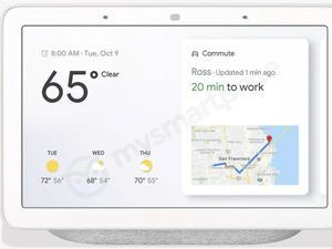 Google Home Hub Leaks, and It's Exactly What You Think