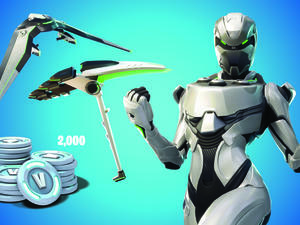 Fortnite-Themed Xbox Bundle Drops from the Battle Bus