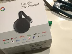 Someone Bought the New Chromecast Before It's Even Official