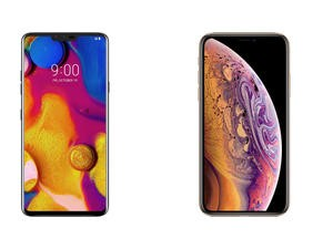 LG V40 ThinQ vs. iPhone XS Max: Apple's Best Has Some Competition