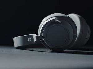 Microsoft's Surface Headphones Offer Adjustable Noise Cancellation