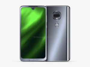 Moto G7 Renders Show Off a Next-Gen Design, Notch Included