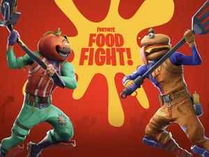 Fortnite Cooks Up Battle Between Durr Burger and Pizza Pit