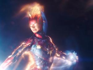 Captain Marvel Trailer Is a Major Blast From the Past