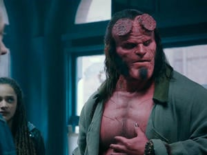 Hellboy Trailer Shows Off the Humorous Side of David Harbour's Demon