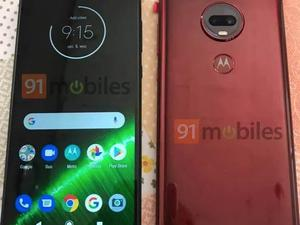 Leaked Moto G7 photos confirm teardrop notch and dual-camera system