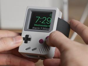 Dock your Apple Watch in this retro Game Boy-inspired stand for its best price yet