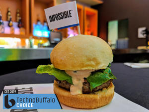 The best product at CES 2019 was... a burger?