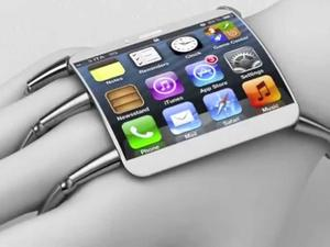 Apple's Curved Glass Wearable Mobile Device Conceptualized (Video)