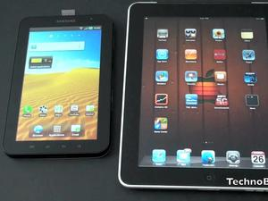 Apple iPad vs. Samsung Galaxy Tab Video