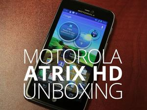 Motorola Atrix HD for AT&T Unboxing and Hands-On (Video)