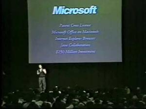 The Day Microsoft Saved Apple