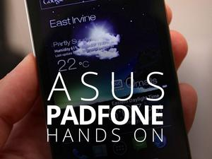 ASUS PadFone Unboxing and Hands-On (Video) - Three Flavors in One