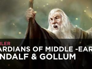 Gandalf and Gollum Gameplay from Guardians of Middle Earth