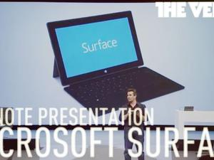 Watch Microsoft's Surface Tablet Unveiling Online Now [Video]
