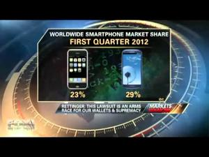 Jon Rettinger Talks With FOX Business About Apple vs. Samsung