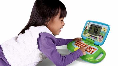 KIDS/' LEARNING TABLET TOY CHILDREN COMPUTER LAPTOP LEARNING TOY FUN LEARN /& GAME