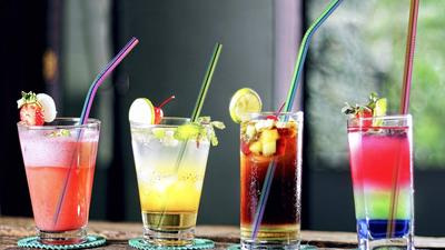 Sip your soda with a metal straw and a clean conscience
