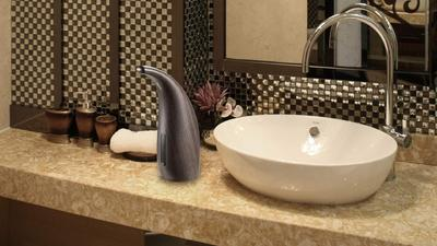 Go hands-free with these automatic soap dispensers