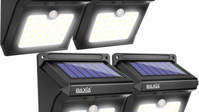 Light your path and save on your electric bill with outdoor solar lights