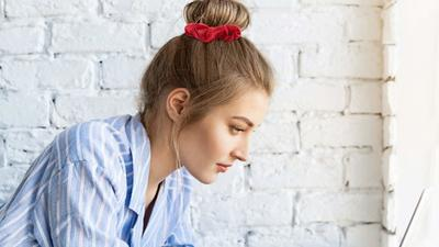 Keep your hair out of your face with these fashionable scrunchies