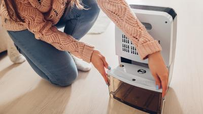 Invest in a good dehumidifier to fix high humidity levels in any room