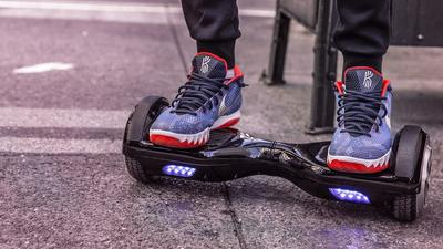 Get around in style with these hoverboards