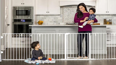 Keep your baby out of harm's way with the best baby gates