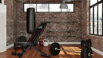 Keep on top of your training with an adjustable workout bench