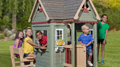 Playtime will never be the same with an imaginative playhouse!