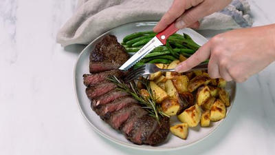 Stop sawing your sirloin with the best steak knives