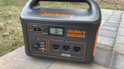 The Jackery Explorer 1000 gives you on-the-go power anywhere
