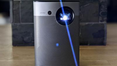 The Halo 1080p projector is perfect for outdoor events