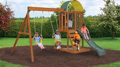 Swing (set) into action with the best swing sets around