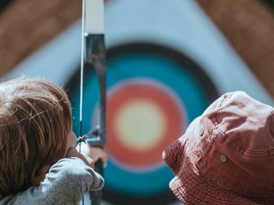 Shoot for the gold wherever you are with these archery targets