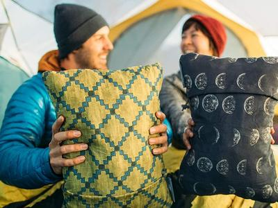 Make your next excursion more comfortable with a backpacking pillow