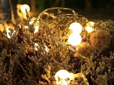Add magic to your living space with these string lights