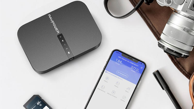 Sharing files between devices is simple with RAVPower's discounted FileHub