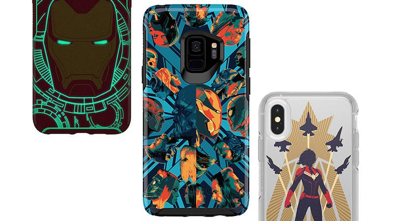 Protect your tech 'til the end with 30% off OtterBox Marvel Phone Cases