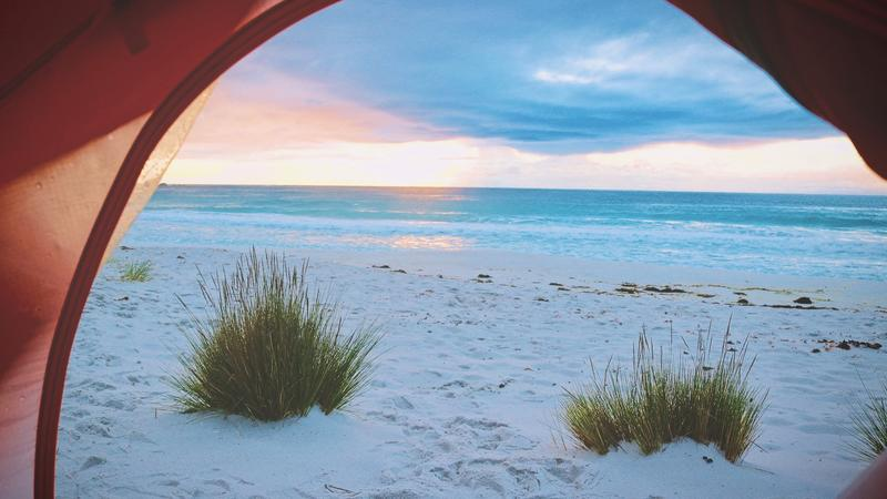 Get the ultimate protection with a beach tent
