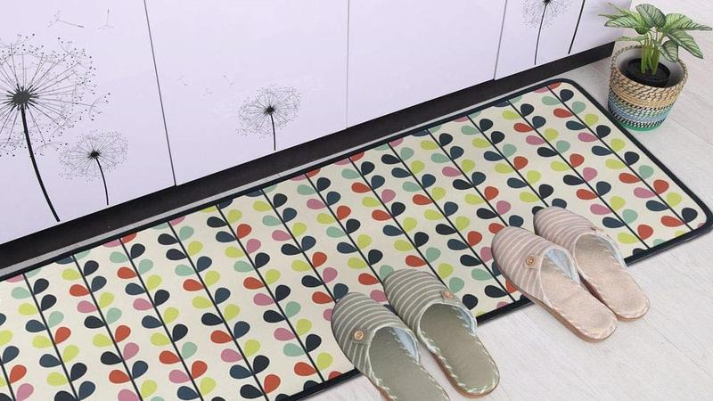 Put your best foot forward on a cool kitchen floor mat
